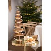 Houten kerstboom met Madi LED-verlichting, miniatuur afbeelding 1