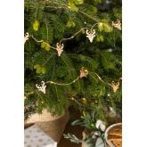 LED Kerstslinger 220 cm Linda, miniatuur afbeelding 1
