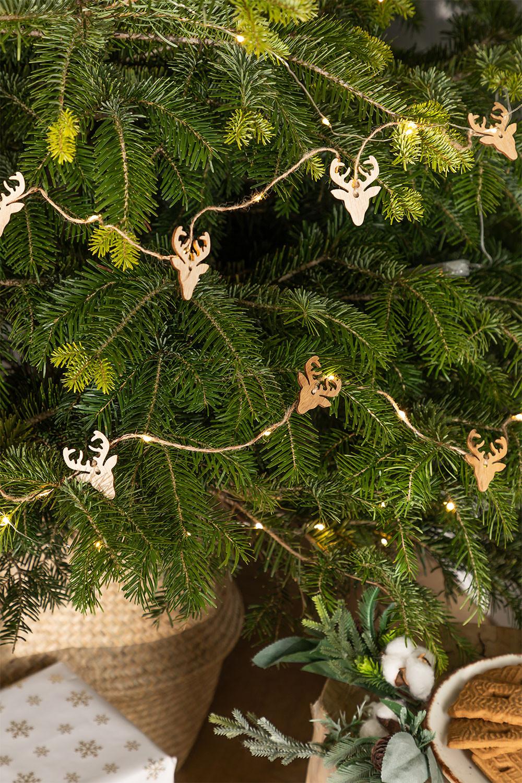 LED Kerstslinger 220 cm Linda, galerij beeld 1