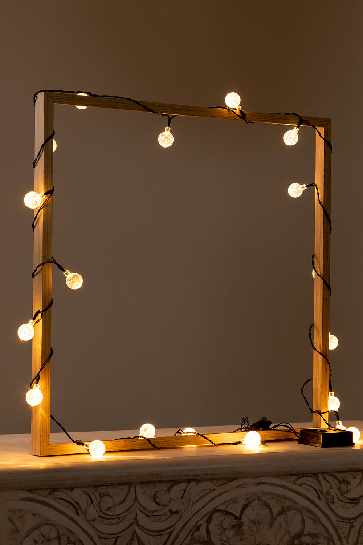 LED-slinger met zonnelader (5 m en 7 m) Pepo , galerij beeld 1