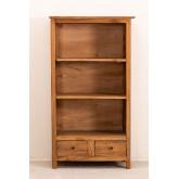 Set van 2 boekenkasten van gerecycled hout  Jara , miniatuur afbeelding 3