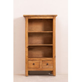 Set van 2 boekenkasten van gerecycled hout  Jara , miniatuur afbeelding 4