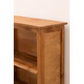 Set van 2 boekenkasten van gerecycled hout  Jara , miniatuur afbeelding 5