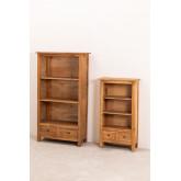 Set van 2 boekenkasten van gerecycled hout  Jara , miniatuur afbeelding 2