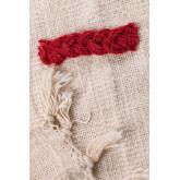 Geruite deken in Nanki katoen, miniatuur afbeelding 4