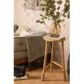 Barlou bamboe hoge kruk, miniatuur afbeelding 1