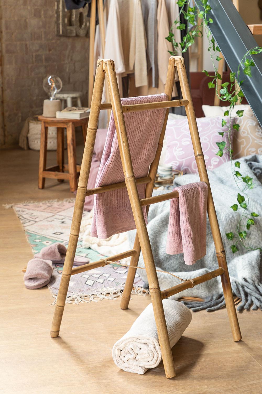 Ladderhanddoek in Bamboo Leskay, galerij beeld 1
