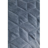 Vierkant fluwelen kussen (40x40 cm) Sine, miniatuur afbeelding 4