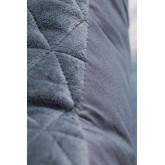 Vierkant fluwelen kussen (40x40 cm) Sine, miniatuur afbeelding 3