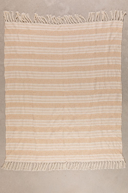 Geruite katoenen deken Yega, galerij beeld 1
