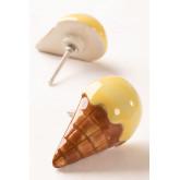 Set van 2 Keramische Handgrepen Ice Cream Kids, miniatuur afbeelding 1