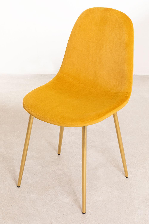 Fluwelen stoel Glamm, galerij beeld 1