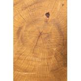 Kolej Bijzettafel van natuurlijk hout, miniatuur afbeelding 4