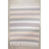 Geruite katoenen deken Kasku, miniatuur afbeelding 2