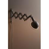 Adan uitschuifbare wandkandelaar, miniatuur afbeelding 4