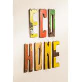 Decoratieletters in gerecycled hout List, miniatuur afbeelding 2