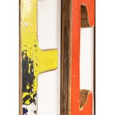 Decoratieletters in gerecycled hout List, miniatuur afbeelding 3