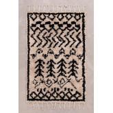 Katoenen vloerkleed (190x120 cm) Tiduf, miniatuur afbeelding 2
