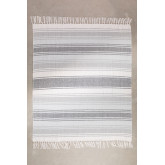 Geruite deken in Tieron-katoen, miniatuur afbeelding 1