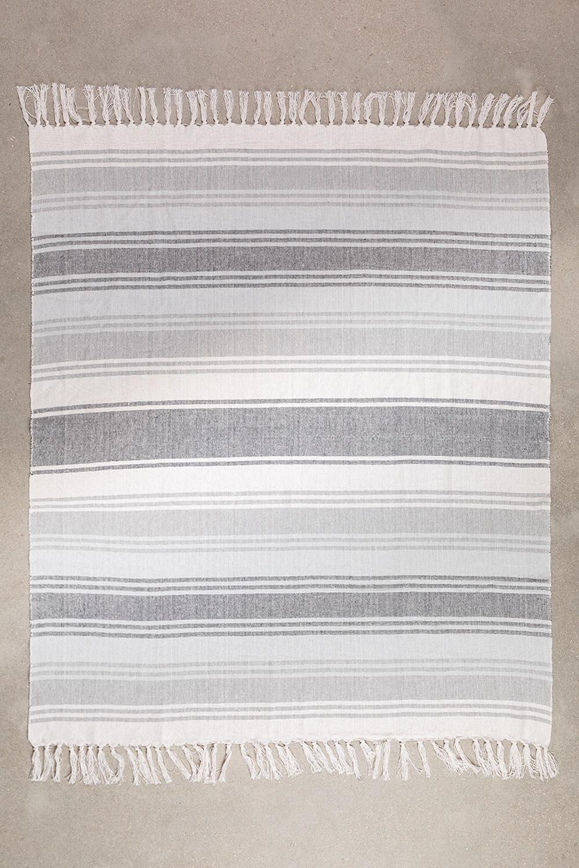 Geruite deken in Tieron-katoen, galerij beeld 1