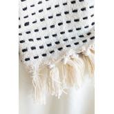 Aryas katoenen plaid deken, miniatuur afbeelding 5