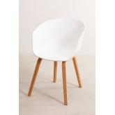 Houten Yäh stoel , miniatuur afbeelding 2