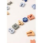 Puzzel met houten cijfers Nemi Kids, miniatuur afbeelding 4