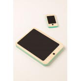 Gamis Kids Houten Tablet en Mobiele Set, miniatuur afbeelding 1