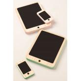 Gamis Kids Houten Tablet en Mobiele Set, miniatuur afbeelding 3