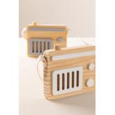 Radio de Madera Rori Kids, miniatuur afbeelding 1