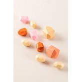Houten Petri Kids stapelstenen, miniatuur afbeelding 2