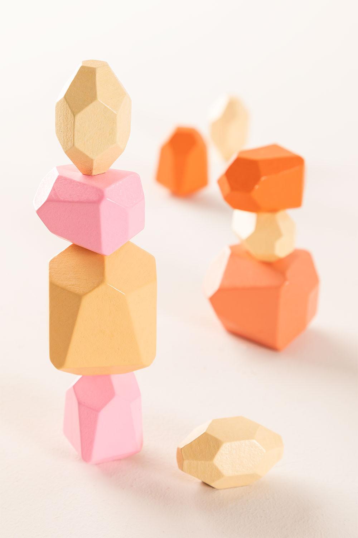 Houten Petri Kids stapelstenen, galerij beeld 1