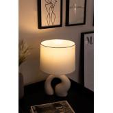 Tafellamp in stof en polyethyleen Mimba, miniatuur afbeelding 2