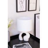 Tafellamp in stof en polyethyleen Mimba, miniatuur afbeelding 1
