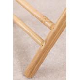 Wallis opvouwbare bijzettafel met dienblad in bamboe, miniatuur afbeelding 5