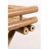 Wallis opvouwbare bijzettafel met dienblad in bamboe, miniatuur afbeelding 6