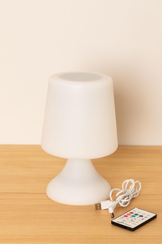 Ledlamp met Bluetooth-luidspreker voor Ilyum buitenshuis, galerij beeld 1