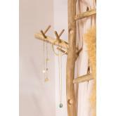 Teakhouten kerstboom abies, miniatuur afbeelding 3
