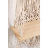 Atena katoenen wandtapijt met wandplank, miniatuur afbeelding 4