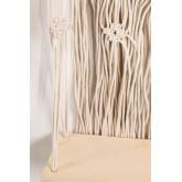 Wandtapijt met wandplank in katoenen piep, miniatuur afbeelding 3