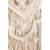 Wandtapijt met wandplank in katoenen piep, miniatuur afbeelding 4
