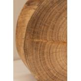 Tafellamp in hout en stof Abura, miniatuur afbeelding 6