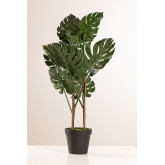 Monstera kunstmatige plant, miniatuur afbeelding 2