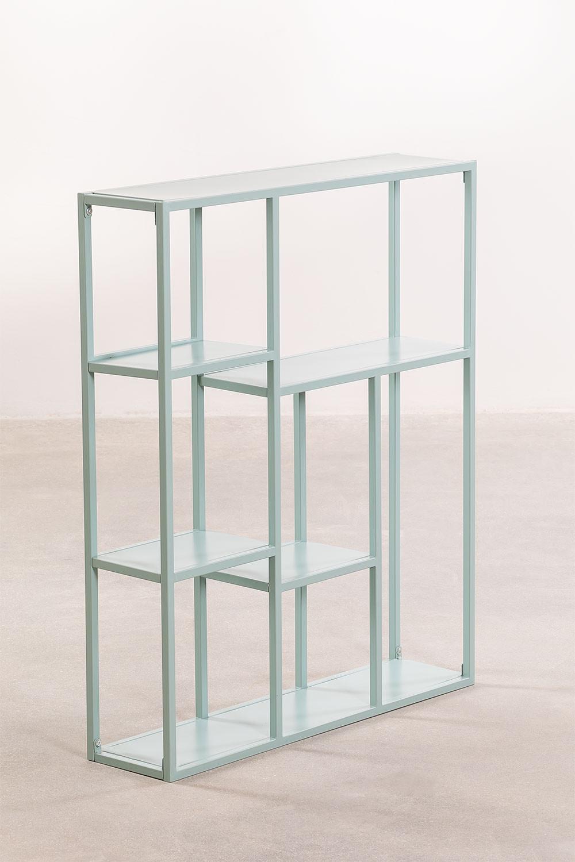 Modulaire wandrek in metaal (75 cm) Thura, galerij beeld 1