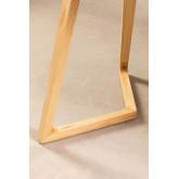 Rechthoekige eettafel in essenhout (160x80 cm) Keira, miniatuur afbeelding 6