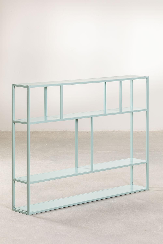 Modulaire wandrek in metaal (120 cm) Thura, galerij beeld 1