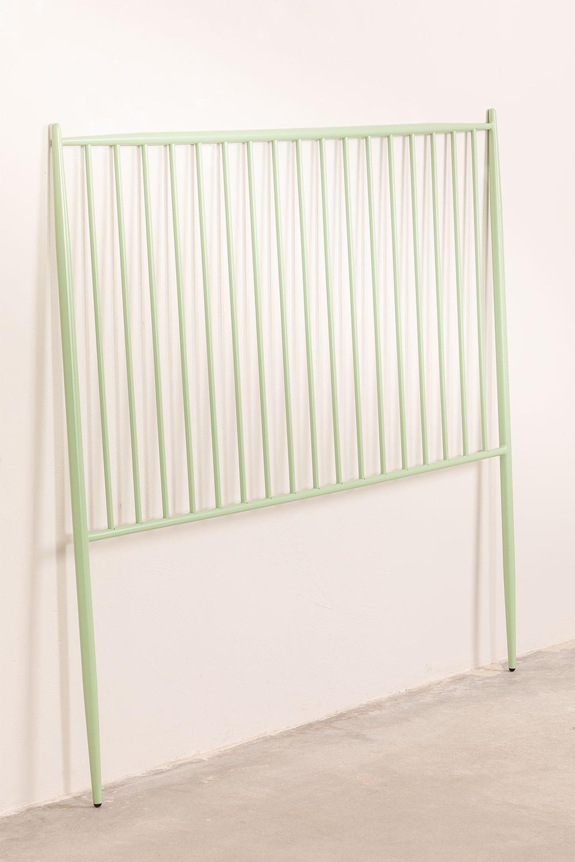 Hoofdbord Nebi metaal 150 cm, galerij beeld 1
