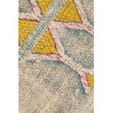 Vierkant katoenen kussen (50x50 cm) Etti, miniatuur afbeelding 4
