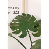 Monstera kunstmatige plant, miniatuur afbeelding 3