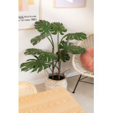 Monstera kunstmatige plant, miniatuur afbeelding 1